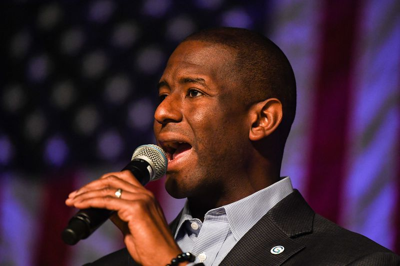 Florida Democratic gubernatorial nominee Andrew Gillum