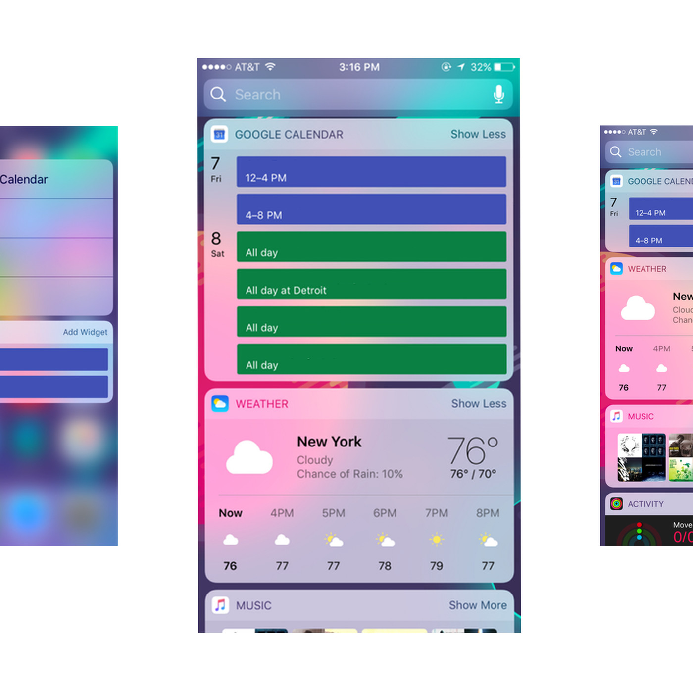 Google Calendar Gets An Ios Widget