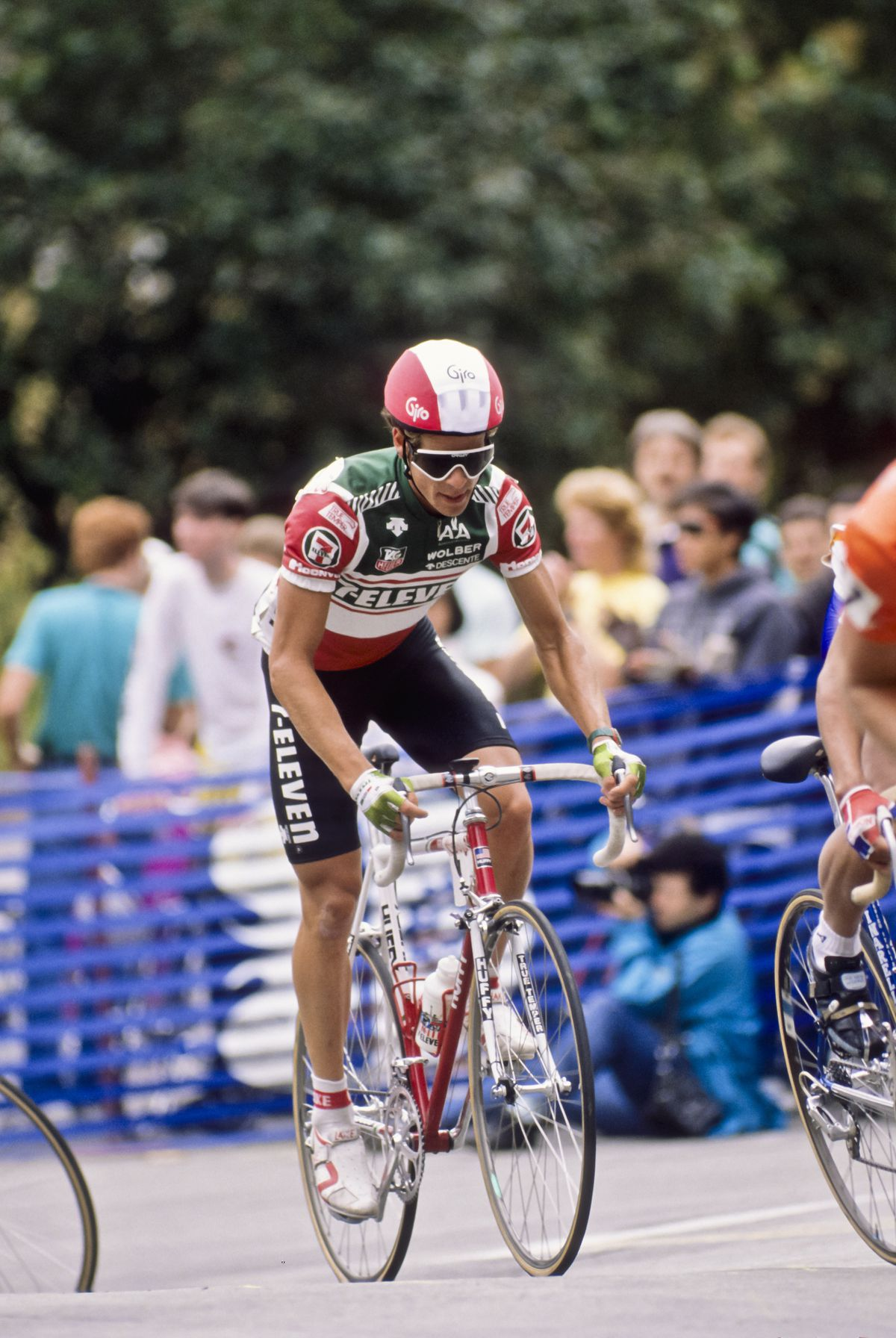 Andy Hampsten Riding