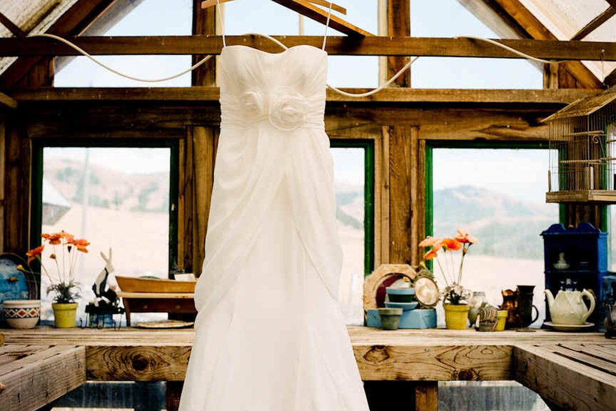 Trust this Green Dry Cleaner with Your Wedding Gown - Racked SF