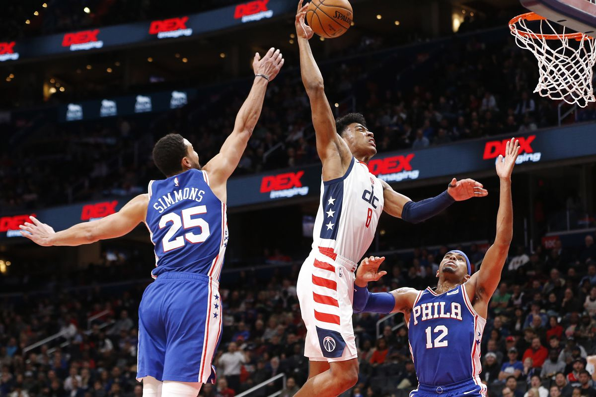 Image result for 76ers vs wizards