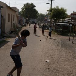 Playing Cricket in Southern India