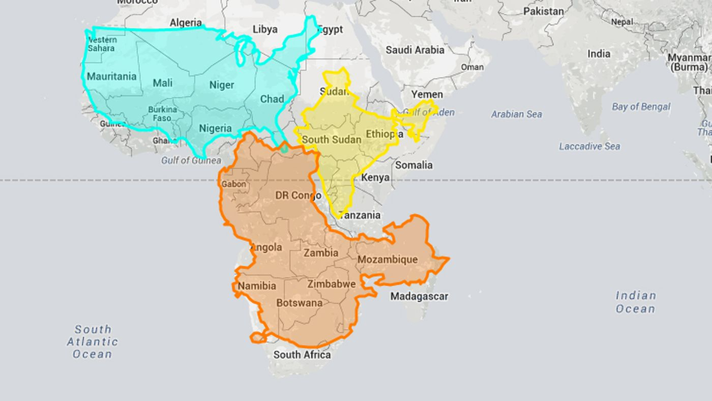 This interactive website shows how wrong mercator projections can be this interactive website shows how wrong mercator projections can be vox gumiabroncs