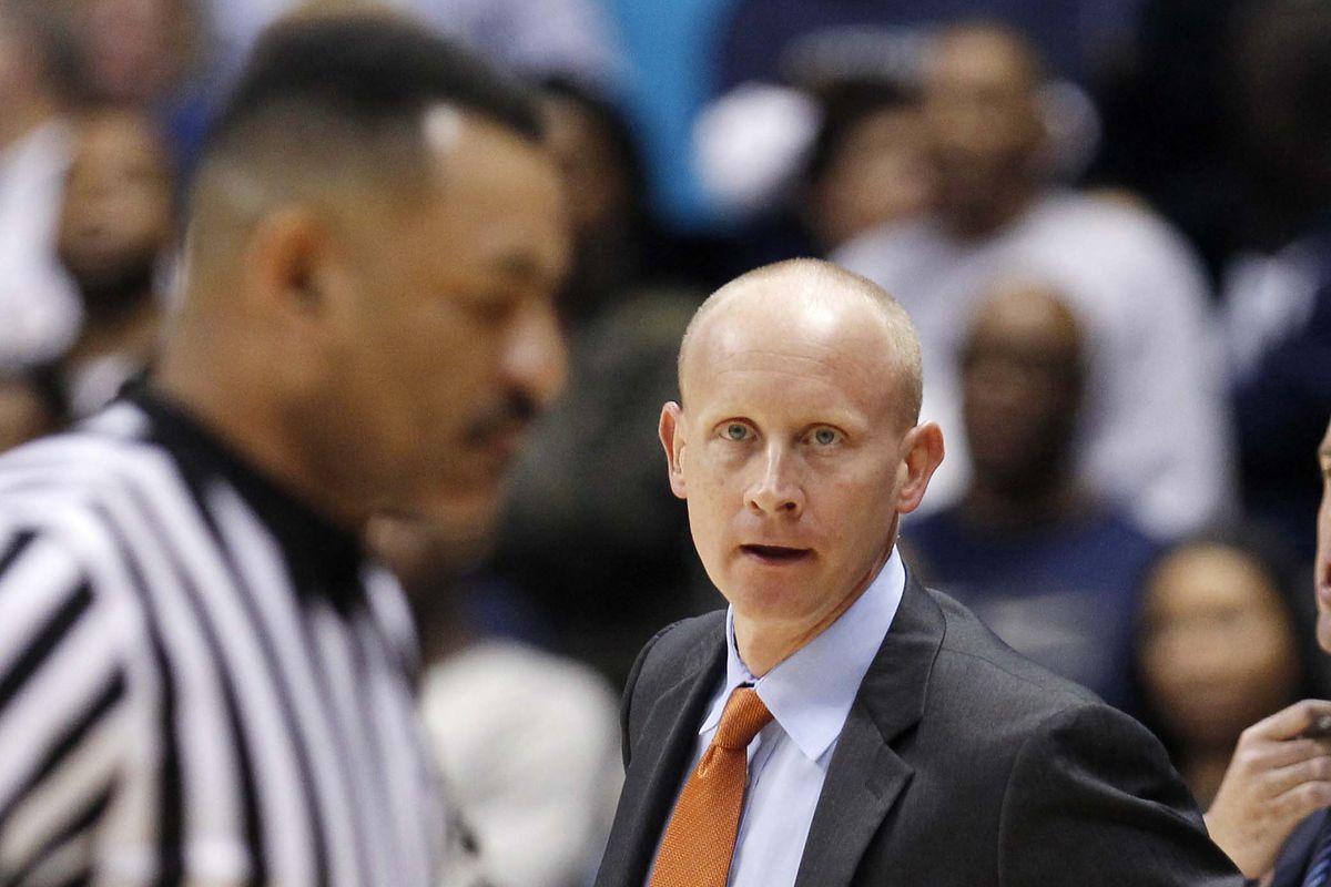 Where should Coach Mack be directing his gaze?
