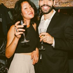 Lisa Kim and Vox Media Director of Studio Operations Marcos Bueno