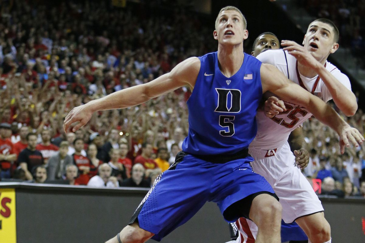 Alex Len won his battle win Mason Plumlee in the ACC's marquee game last week