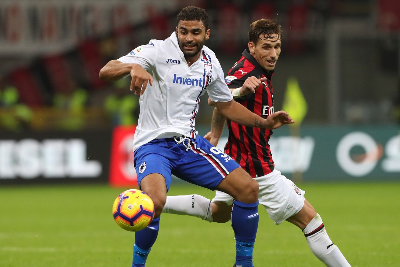 Rossoneri Round-up for 11 December: AC Milan will play away at Sampdoria in the Coppa Italia