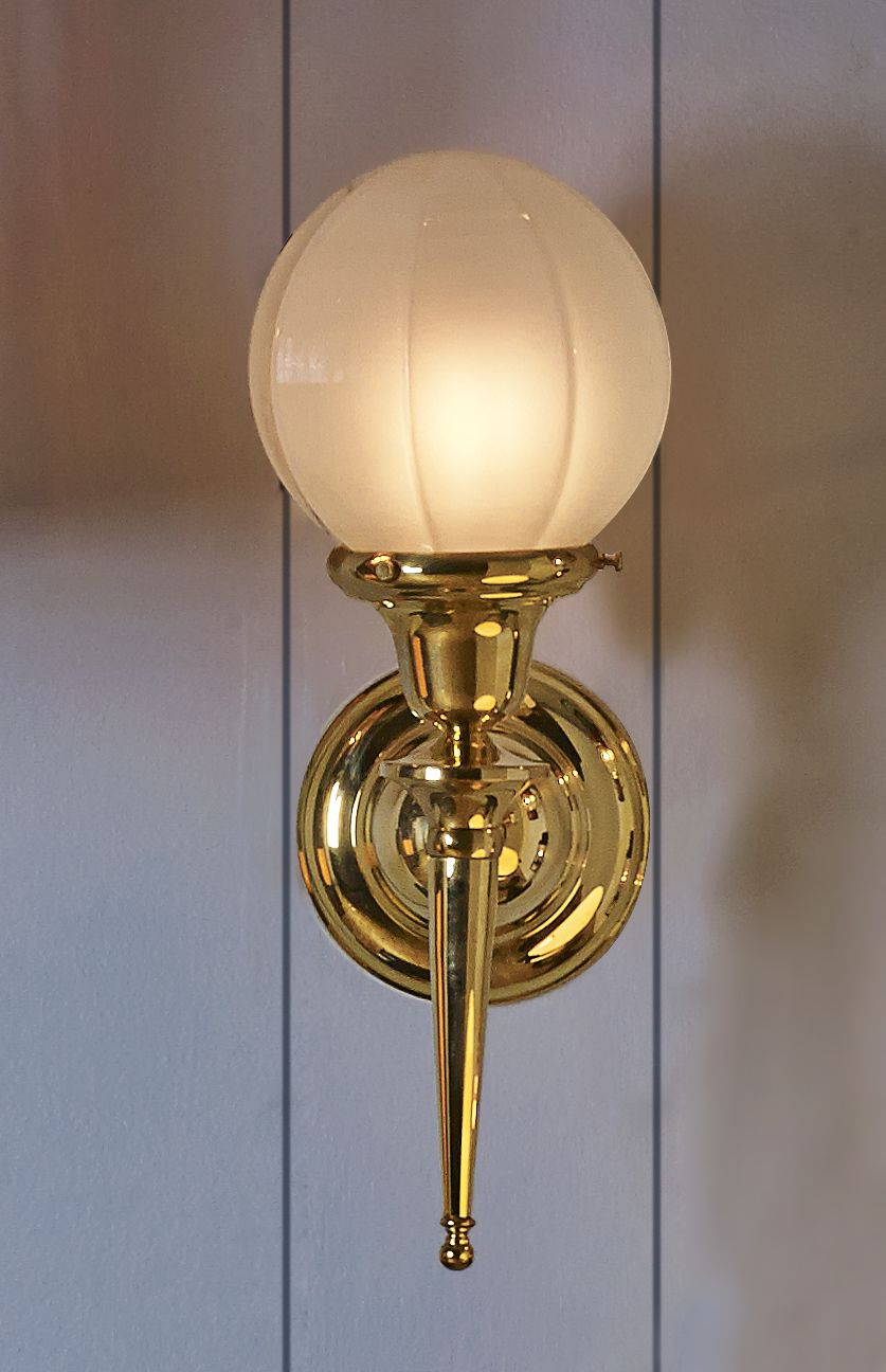 Colonial Revival Style Torch Wall Bracket