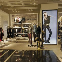 The women's ready-to-wear department.