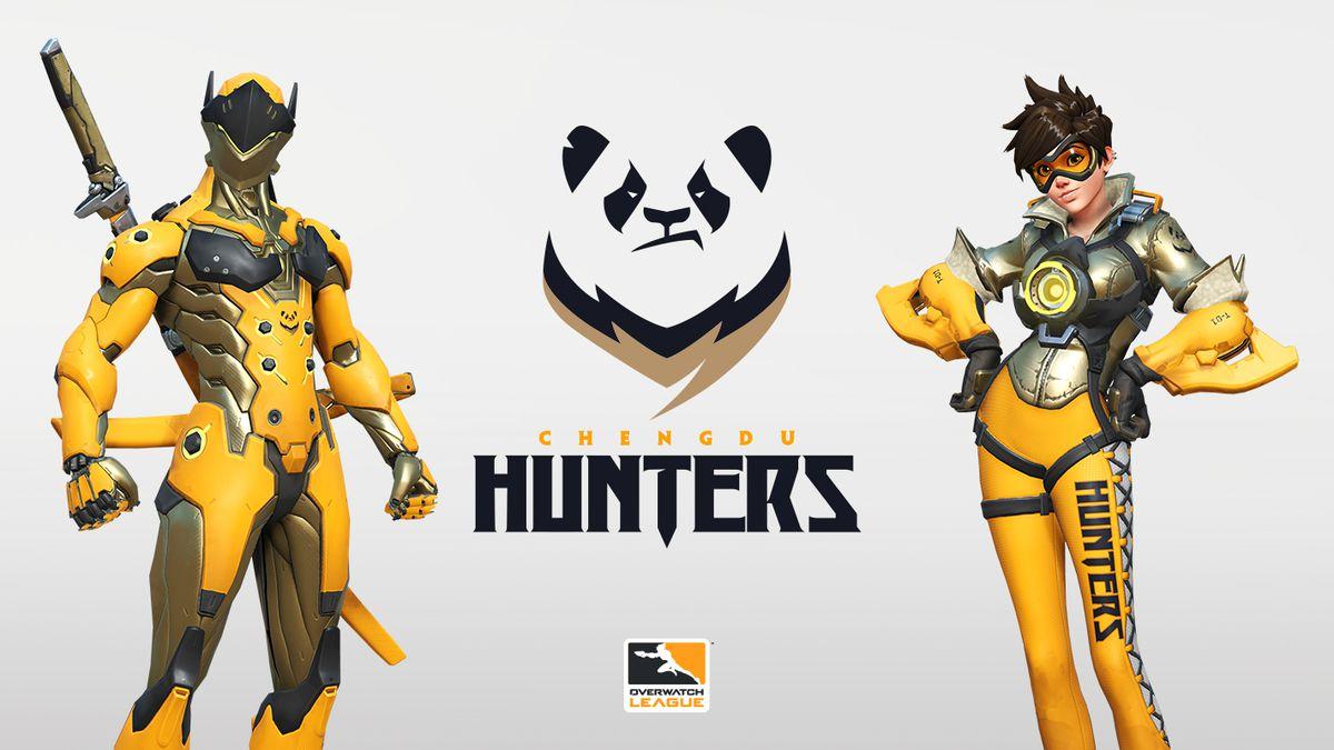 The Chengdu Hunters brand and team skins.