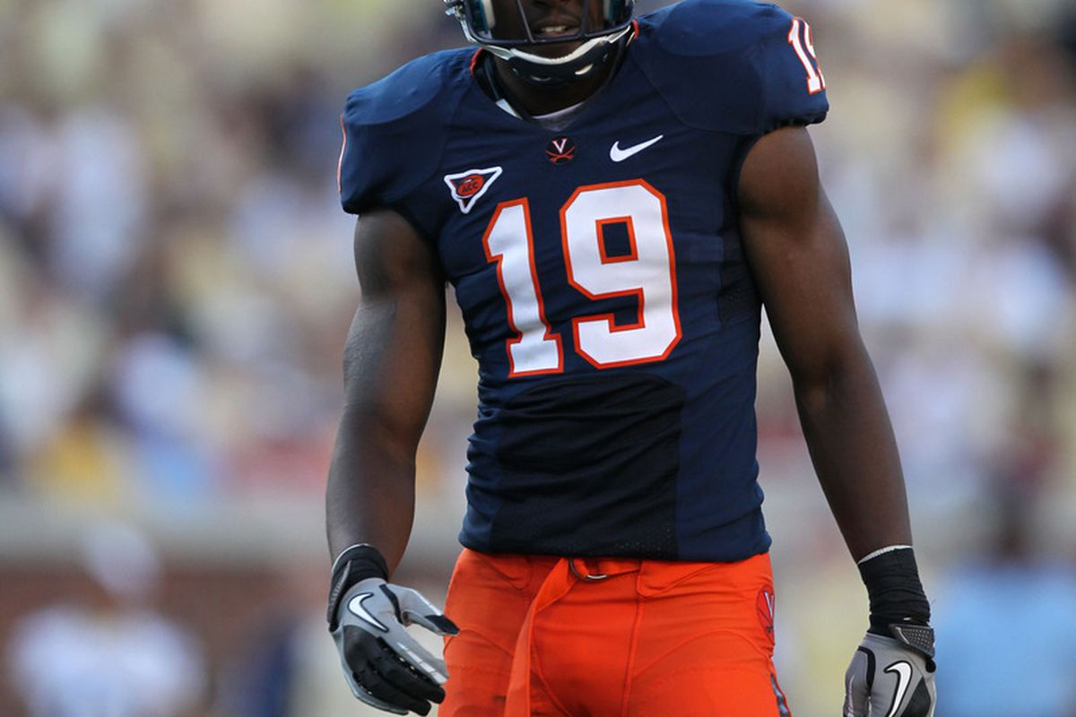 Virginia's Ras-I Dowling selected as the overall 33rd pick. Courtesy UVa Media Relations