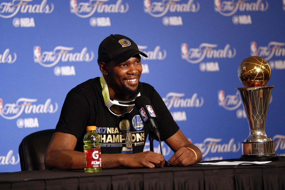 50160f78509 Share Kevin Durant came in 2nd his whole career. Now he s finally a champion.  tweet share Reddit Pocket Flipboard Email. Cary Edmondson-USA TODAY Sports