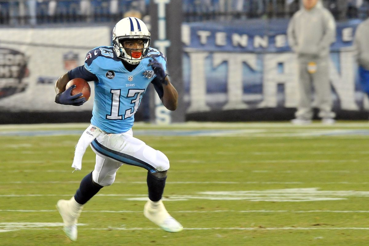 Kendall Wright. A former Baylor and now Titans standout