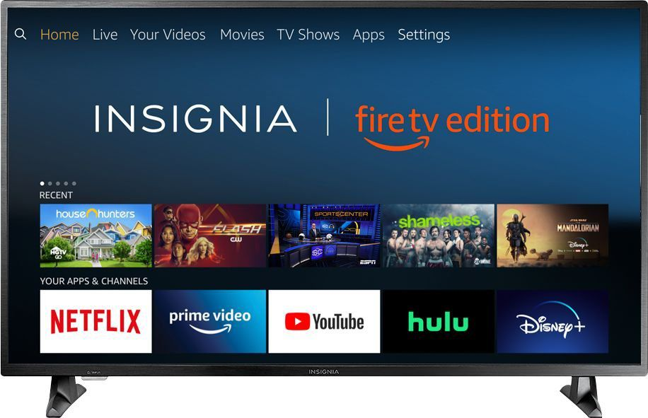 Product shot of the Insignia Fire TV