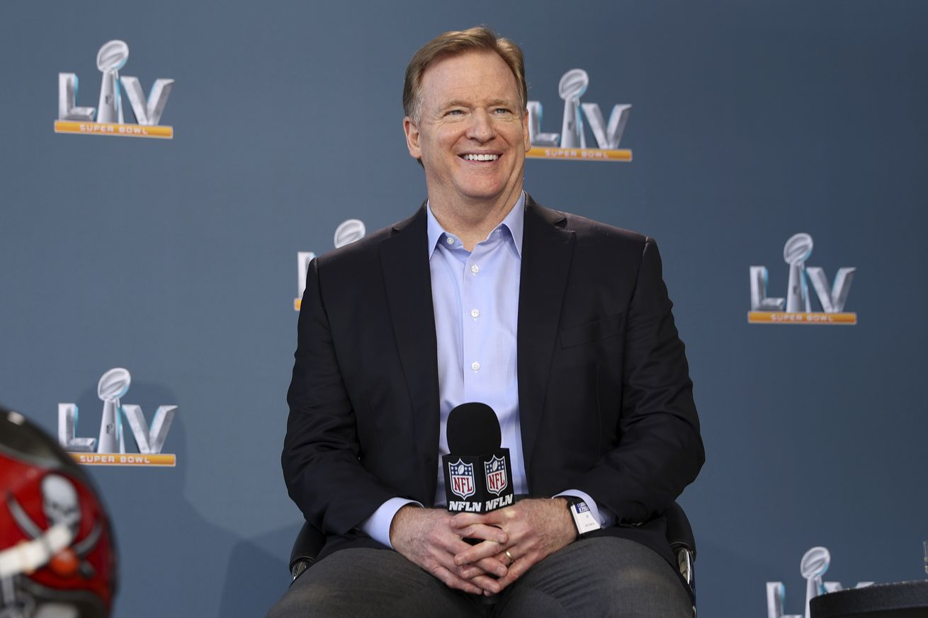 NFL: Super Bowl LV-Roger Goodell Press Conference