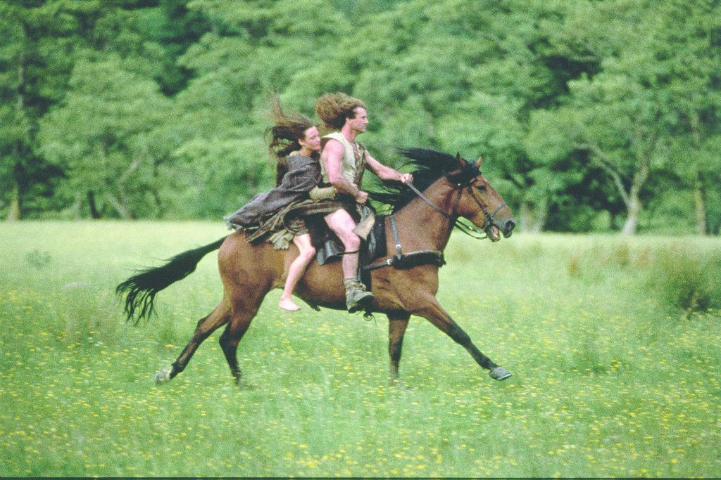 william wallace rides a horse in braveheart
