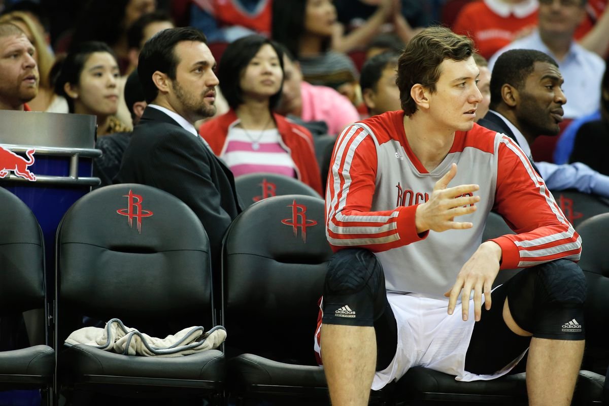 Omer Asik has seen DNP's and decreased minutes this season and has requested a trade.