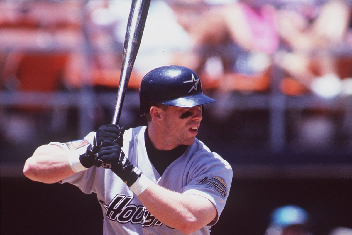 The Greatest Seasons In Astros History: Jeff Bagwell in 1994 in San Diego for a game against the Padres