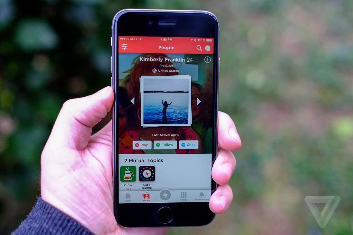 Trivia app QuizUp is becoming a primetime TV gameshow on NBC