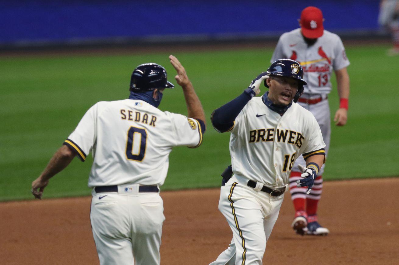 MLB: SEP 16 Cardinals at Brewers