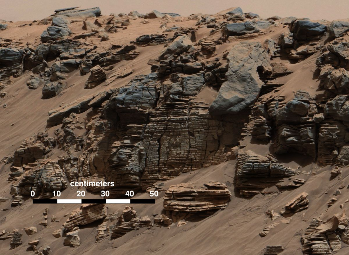 mars sedimentary