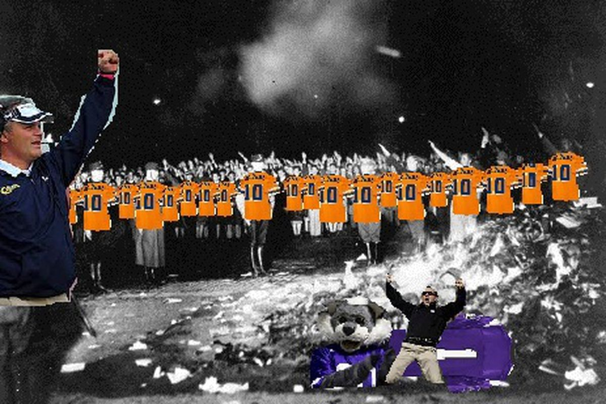 Tim Beckman is possibly the stupidest fascist ever.