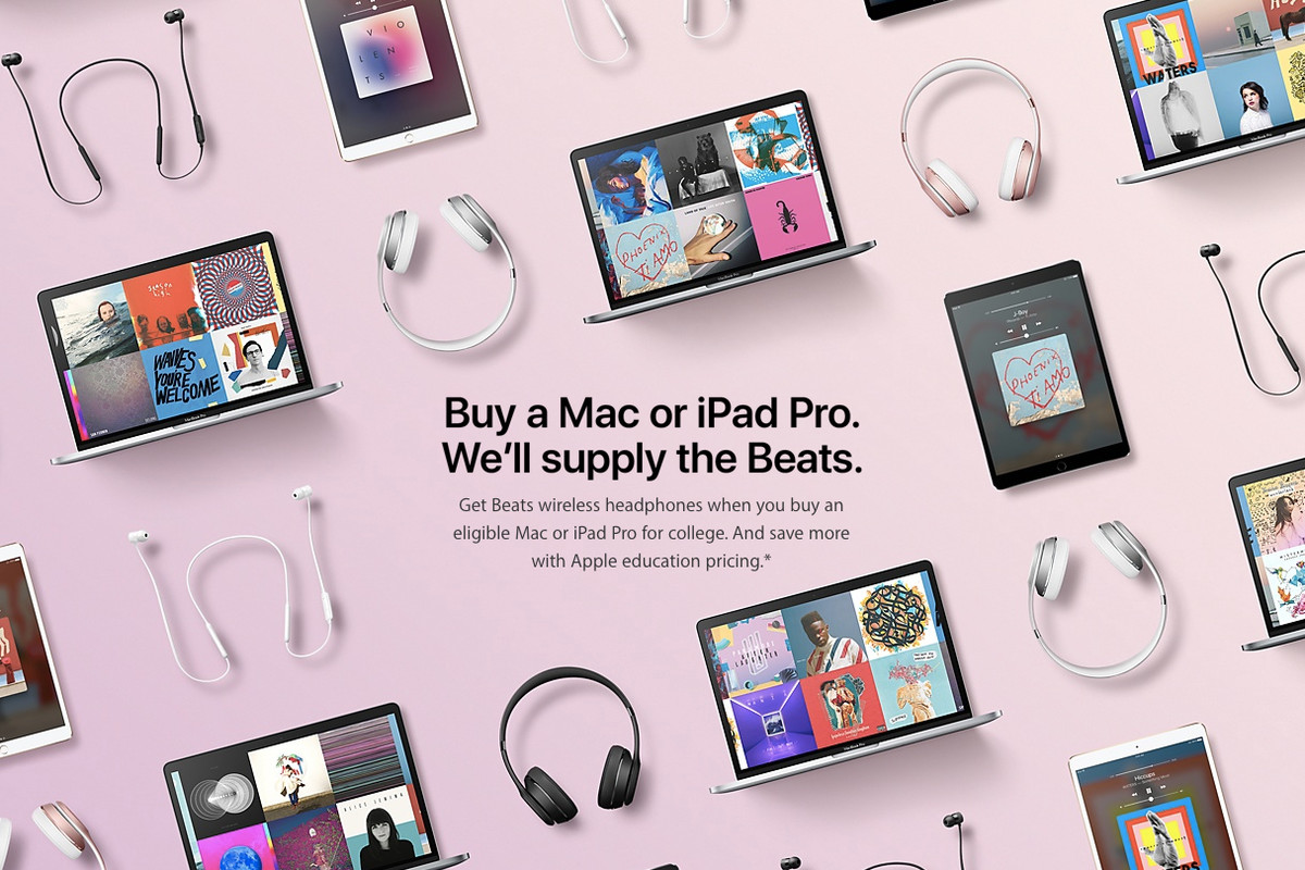 Apple is giving away free headphones with MacBook, iPads