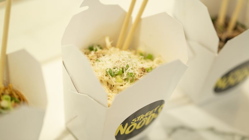 udon noodles with cheese