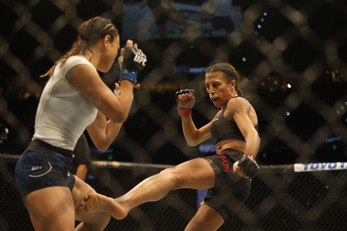 Photo: Joanna Jedrzejczyk's broken foot after UFC Tampa win