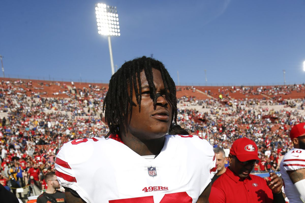 49ers' Reuben Foster arrested on domestic violence, weapons allegations