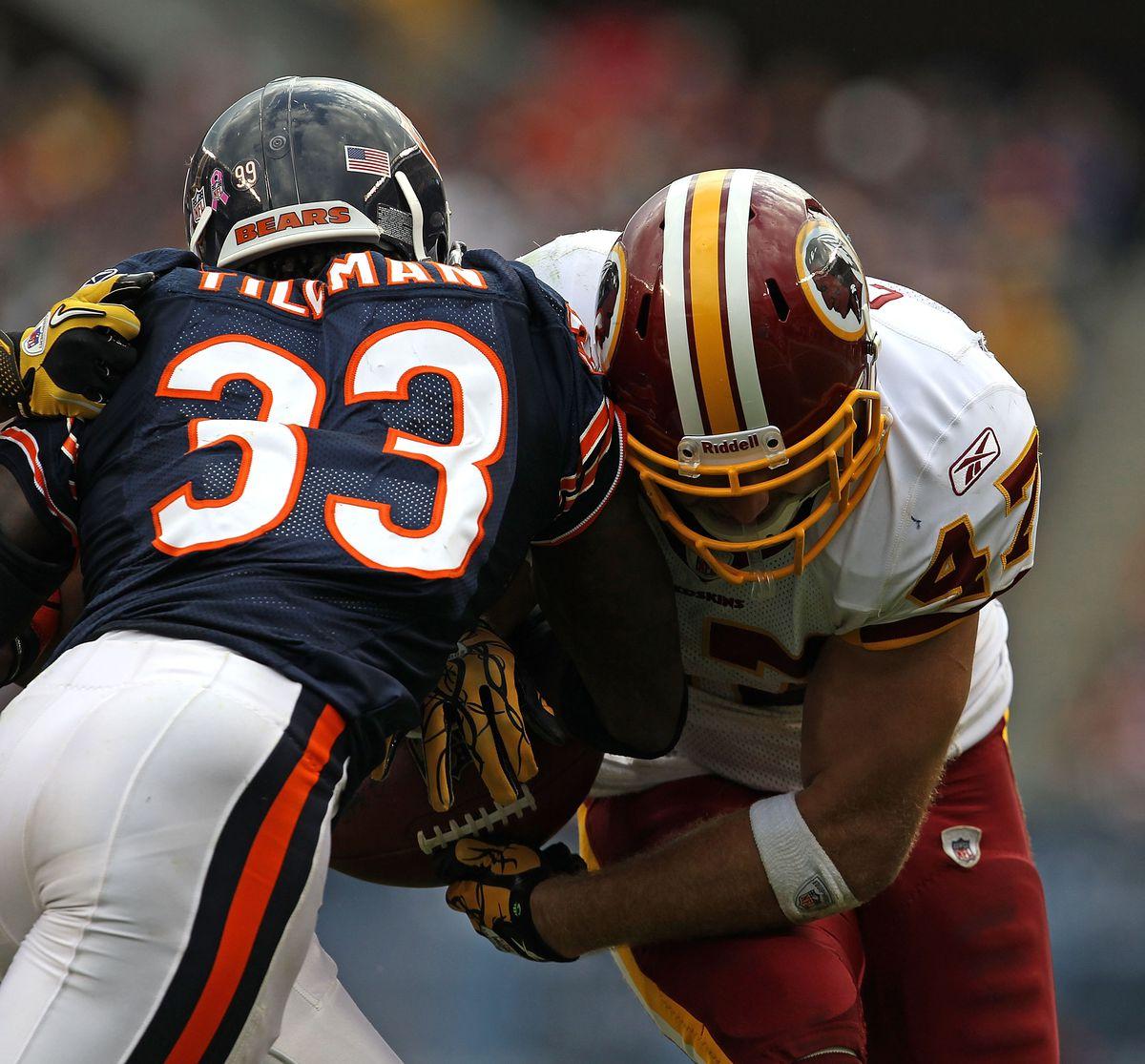 Washington Redskins v Chicago Bears