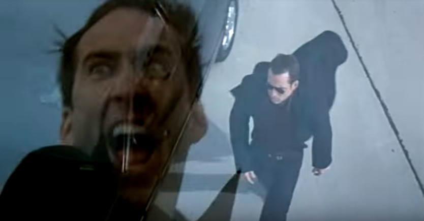 A screenshot of Nicolas Cage in 'Face/Off'