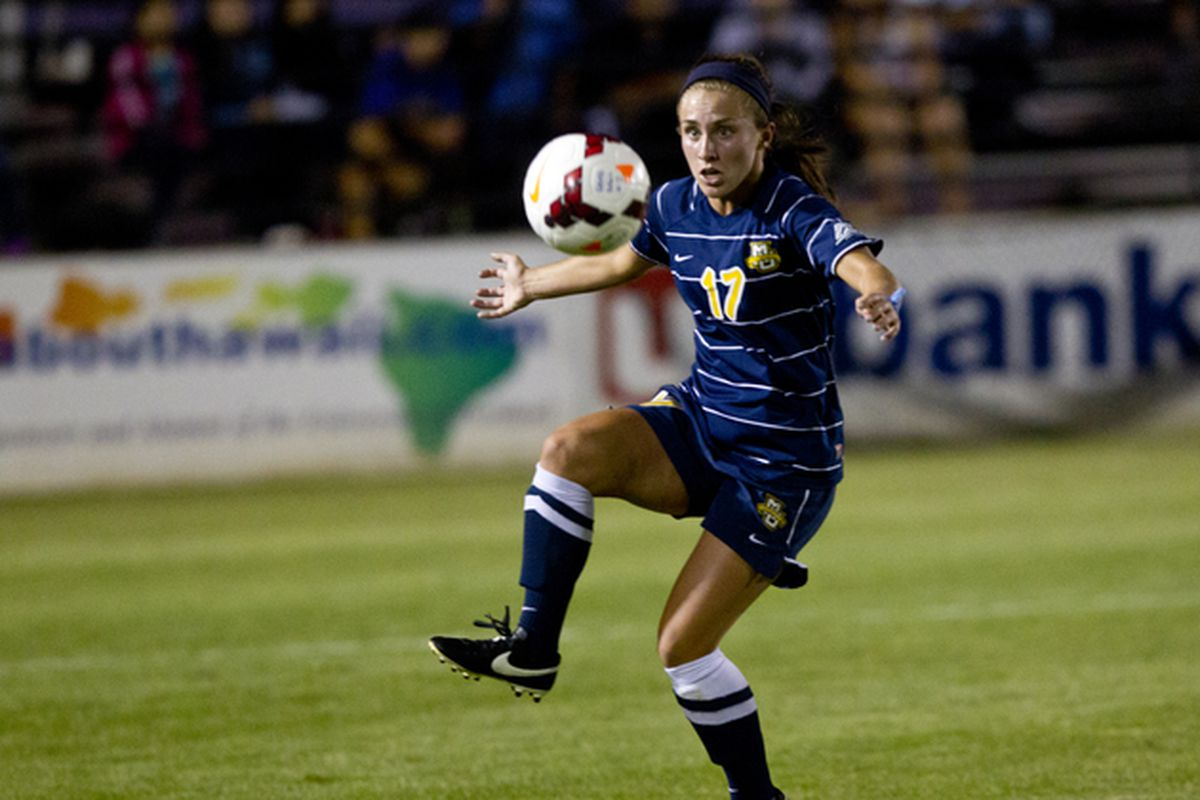 Liz Bartels notched two last minute assists to Darian Powell.