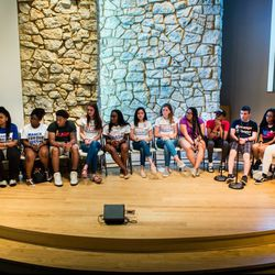 The March For Our Lives town hall meeting with students from Parkland and Chicago at The DuPage Unitarian Universalist Church, Naperville, June 16th, 2018. | James Foster/For the Sun-Times