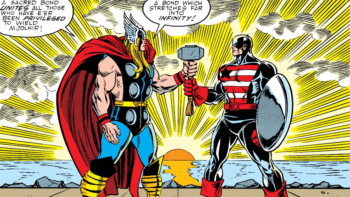 """The """"worthy"""" Avengers who can wield Thor's hammer, according"""