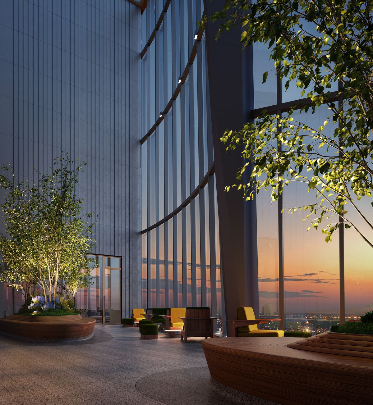 Hudson Yards Unveils NYC's Highest Outdoor Residential