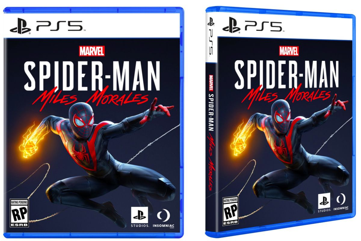 Cover art for Spider-Man Miles Morales on PS5