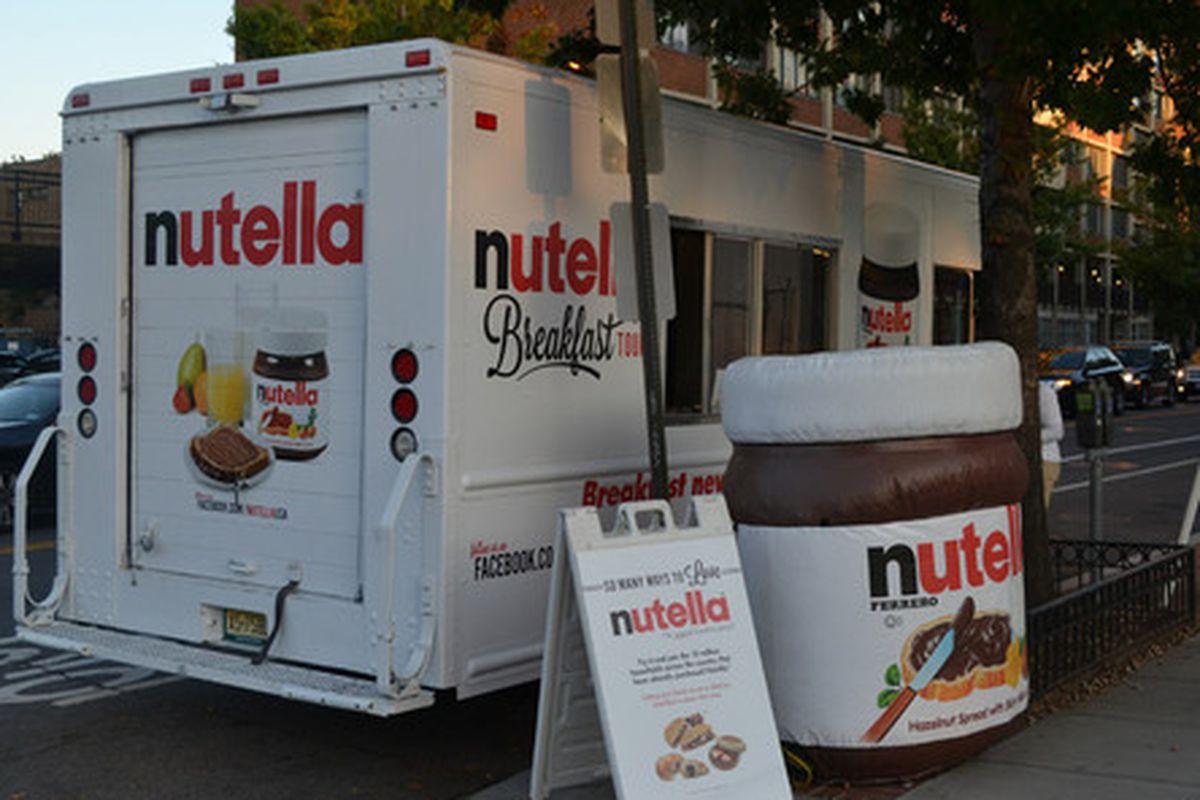 Nutella truck in DC.