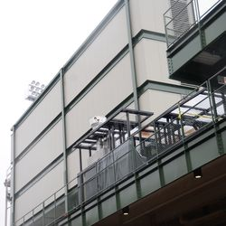11:19 a.m. Back of the RF video board, with food grill temporarily moved over -