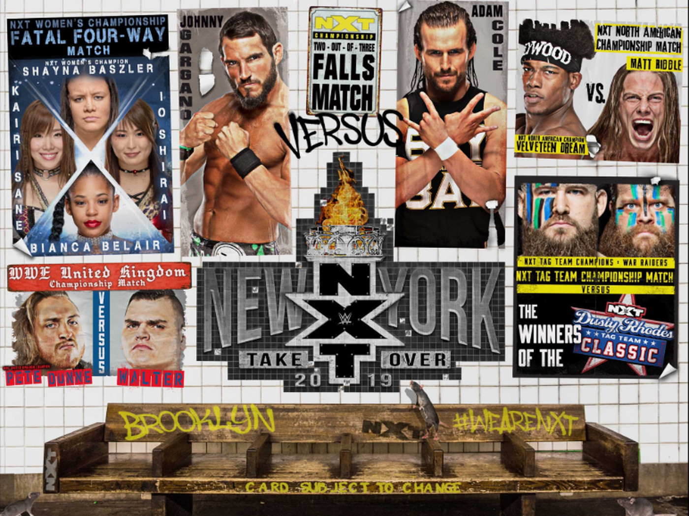 Image result for nxt takeover new york poster