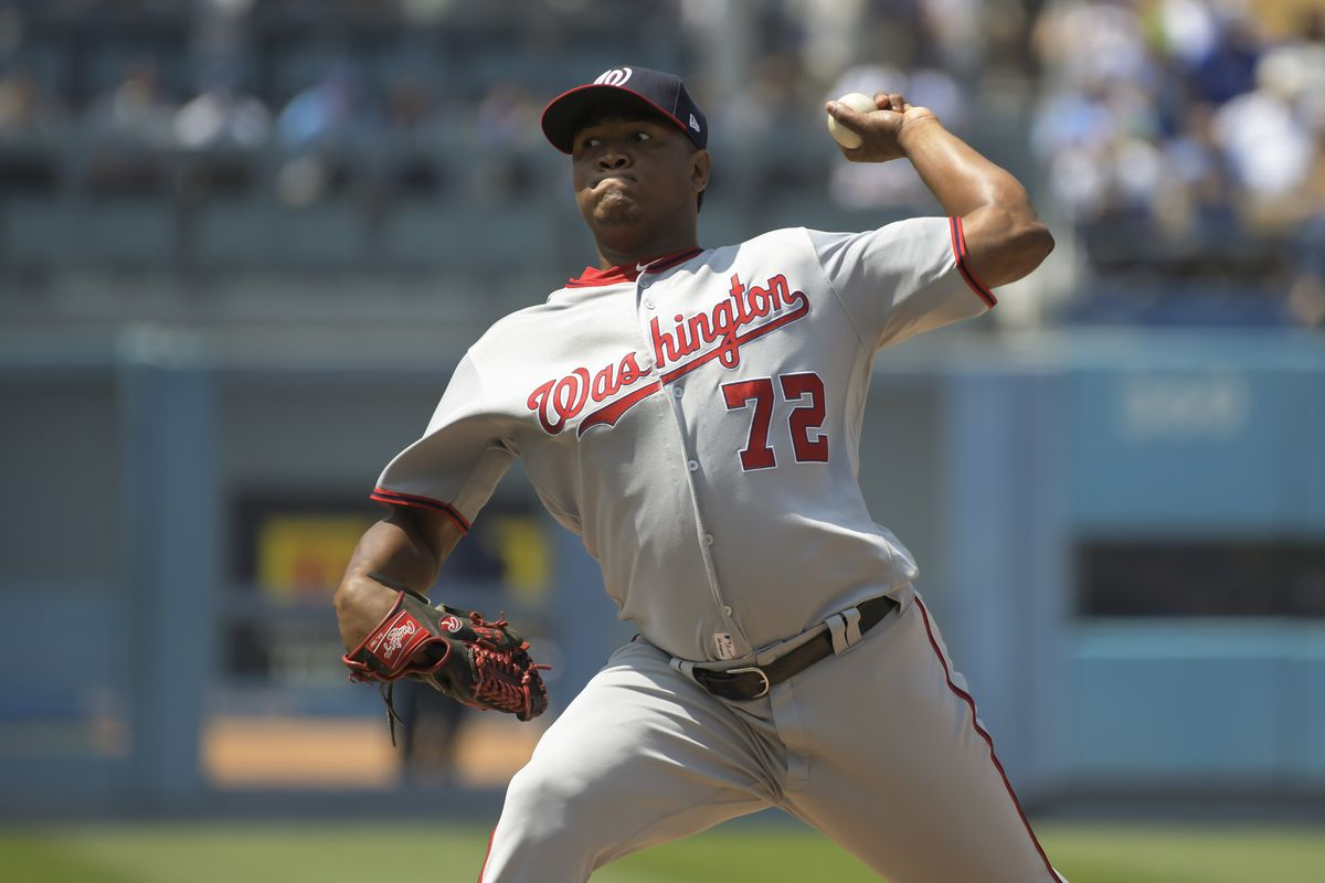 MLB: JUN 07 Nationals at Dodgers
