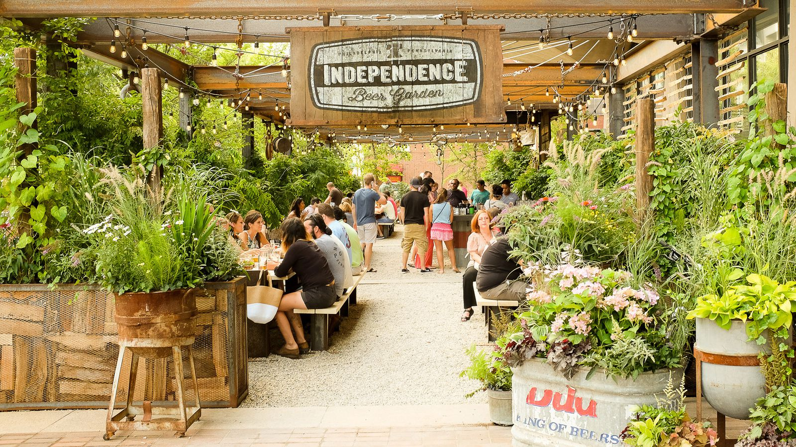Independence Beer Garden Returns For The 2016 Season