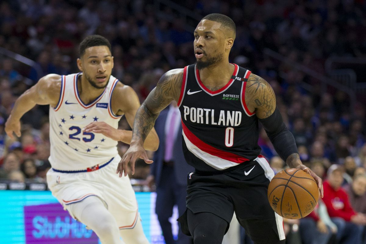 Portland Trail Blazers v Philadelphia 76ers