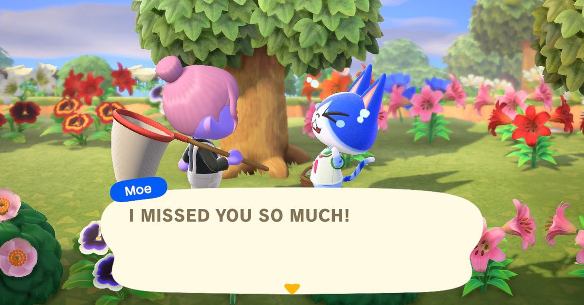 Fear and self-loathing in Animal Crossing: New Horizons