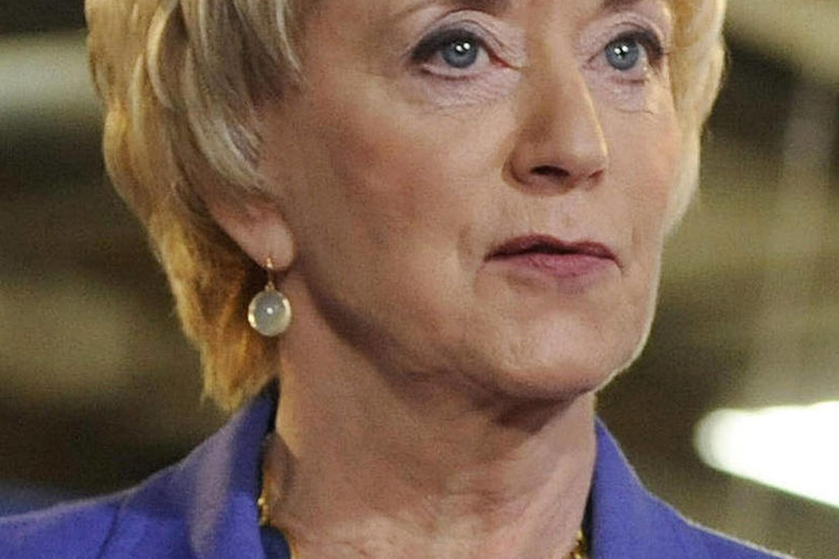 In this March 14, 2012 photo, Republican Linda McMahon speaks in Newington, Conn., during her first news conference since announcing her second bid for U.S. Senate. An April 2012 review of state election records by The Associated Press shows McMahon has d