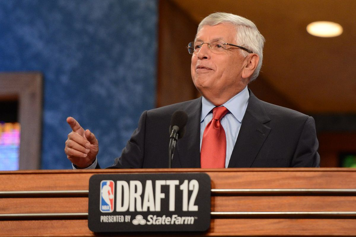 This will be David Stern's last draft as NBA Commissioner
