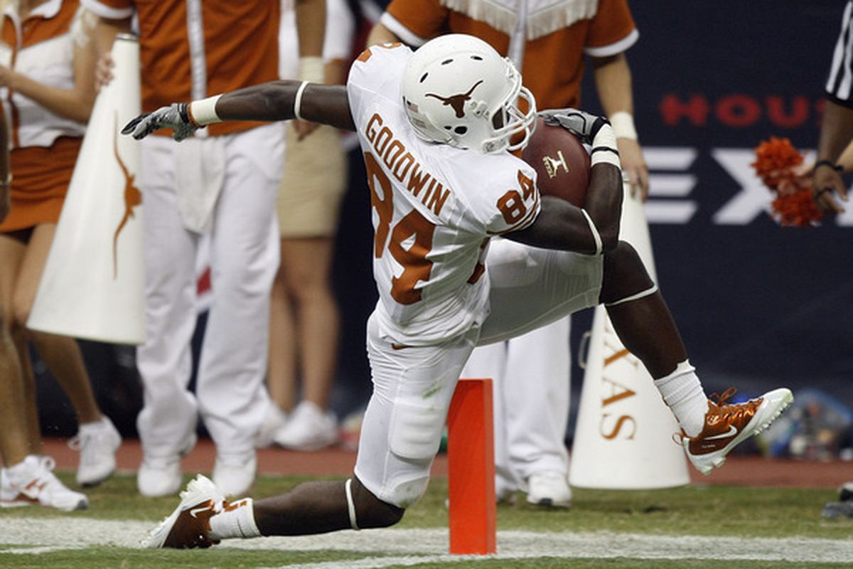 It's been a long time since the Cowboys drafted a Texas Longhorn. Marquise Goodwin has the versatility that the Cowboys lack on offense, and he could be a target for them in the 2013 NFL Draft.