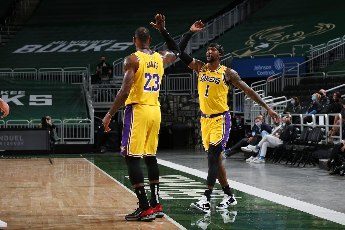 Los Angeles Lakers v Milwaukee Bucks