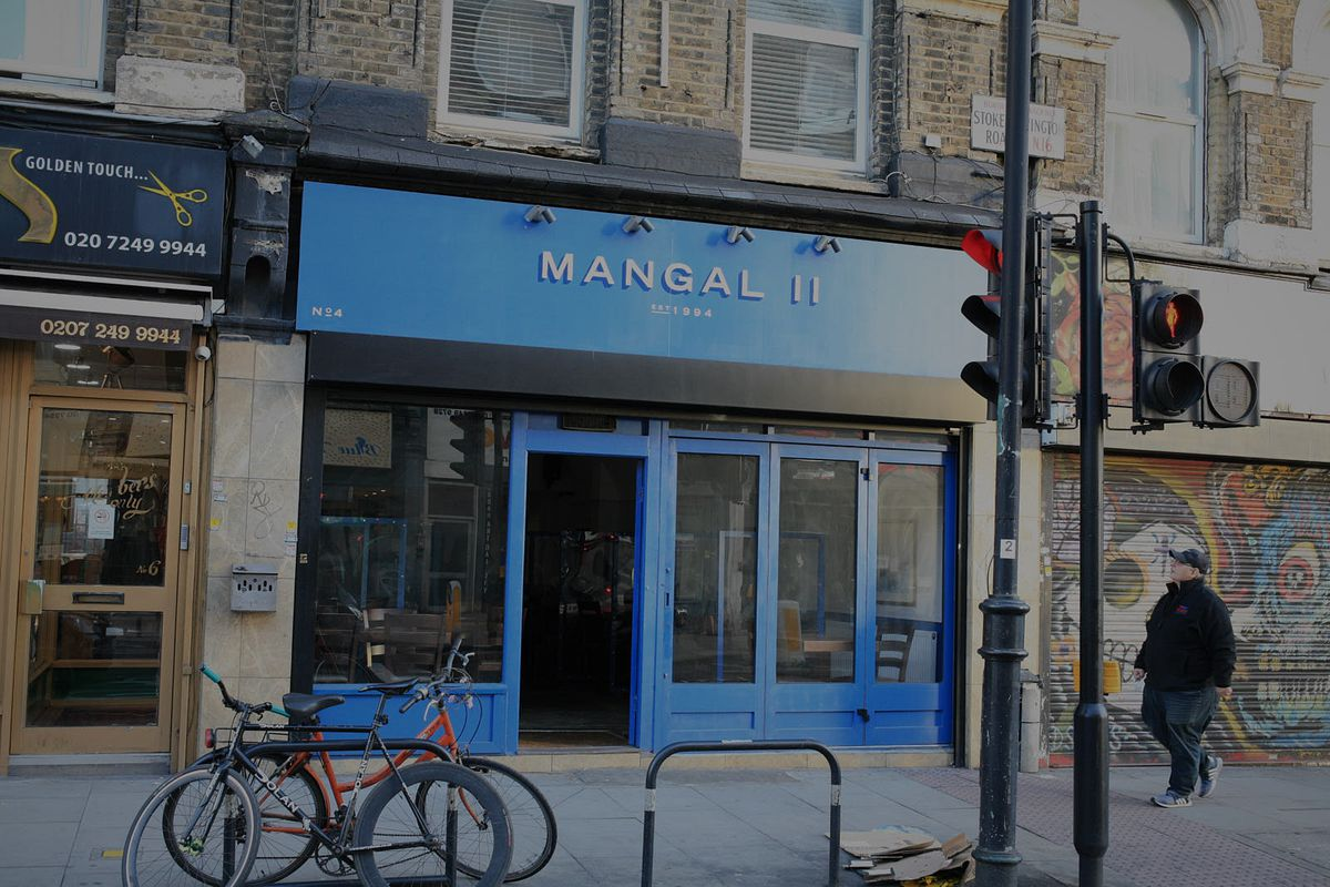 Mangal 2 in Dalston on the eve of lockdown 2 in November 2020