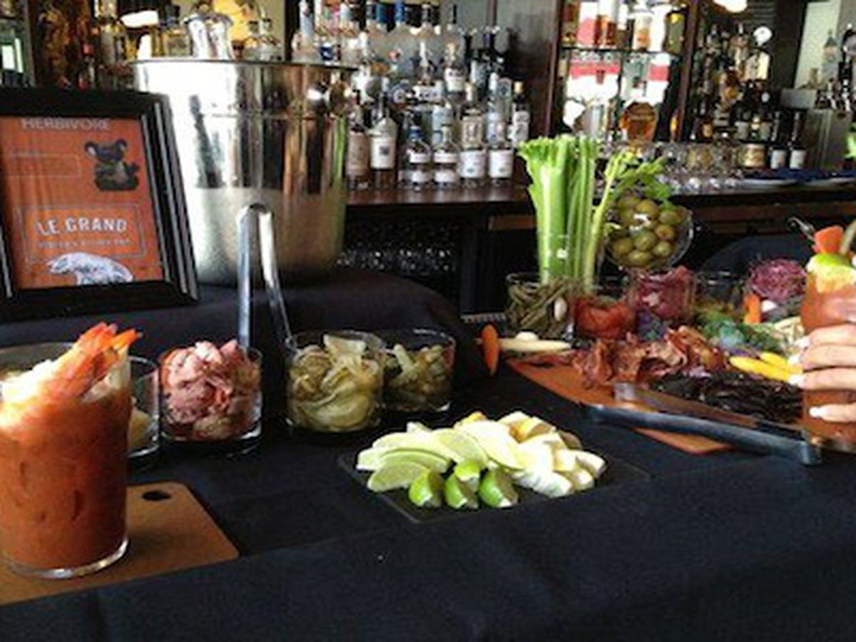 <br>Le Grand Bistro Bloody Mary Bar